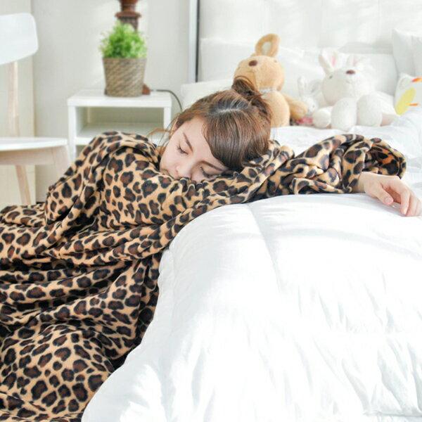 【典雅豹紋】 時尚加厚懶人袖毯 ◆台灣精製◆ HOUXURY寢具生活網】 時尚加厚懶人袖毯 ◆台灣精製◆ HOUXURY寢具生活網
