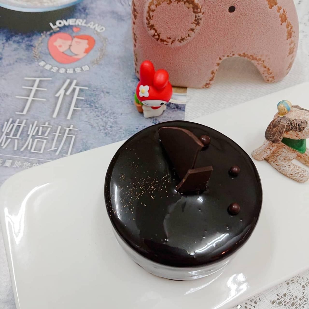 海鹽焦糖巧克力蛋糕  Sea Salt Caramel Chocolate Mousse (不適用冷凍宅配,限自取)
