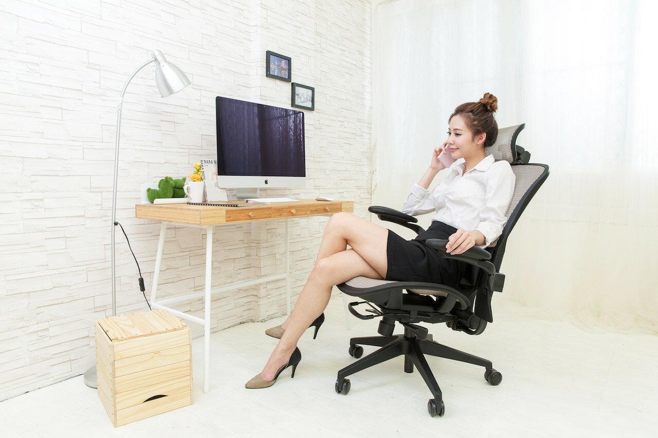【哈默爾市集】起立時光美學椅-拓快活系列-KL-P1804(孝順父母、辦公椅、人體工學、網椅、電腦椅、書桌椅)