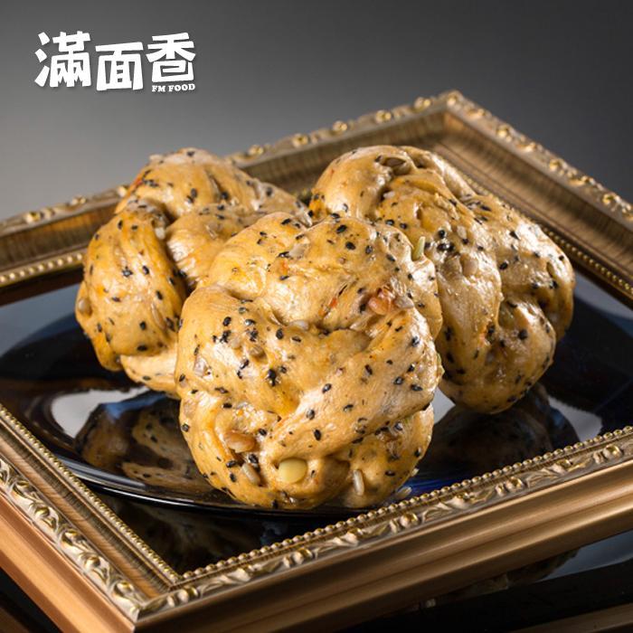 【滿面香】經典招牌手工饅頭(五穀) - 4顆入