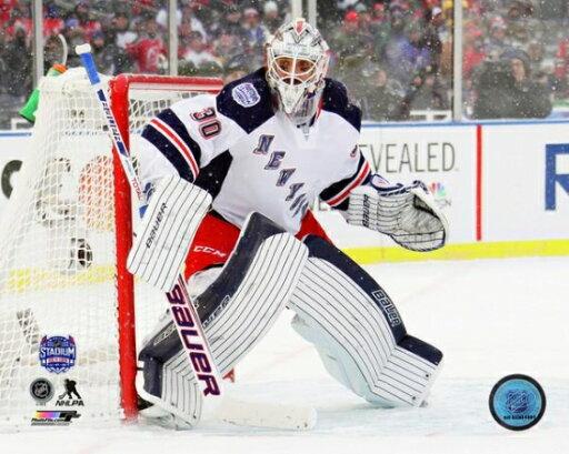 Henrik Lundqvist 2014 NHL Stadium Series Action Photo Print (16 x 20) 38db107dde5ebdc0e260ea73fb5a550c