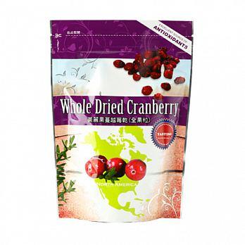 康健生機~美麗果蔓越莓乾200公克/包(全果粒)