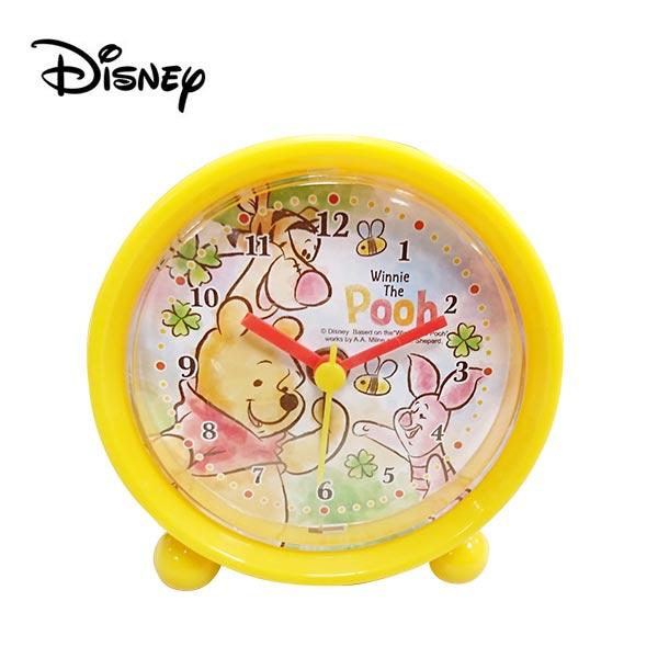 【日本正版】小熊維尼 鬧鐘 造型鐘 指針時鐘 維尼 Winnie 迪士尼 Disney - 737017