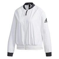 Adidas愛迪達,adidas愛迪達外套推薦到【ADIDAS】愛迪達 BOMBER WV FEM 女子 白 外套 -DW4553