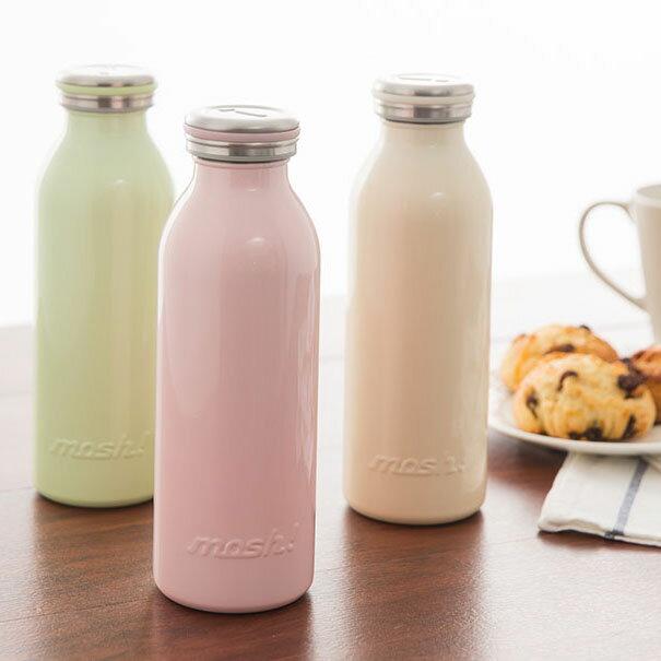 【日本mosh!】可可棕 牛奶系保溫瓶 (350ml)  免運特殺 3