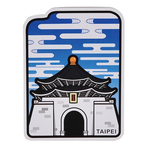 【MILU DESIGN】+PostCard>>台灣旅行明信片-中正紀念堂/明信片(台北景點/古蹟/蔣中正/TAIPEI)