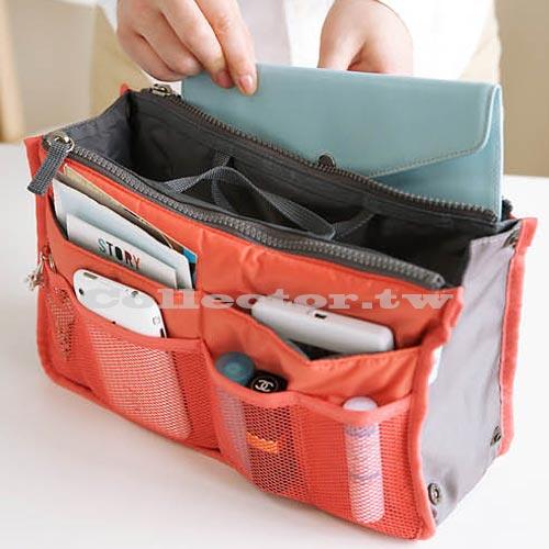 【G13091702】韓版 加厚包中包 包包收納整理袋 包中袋 多功能大收納