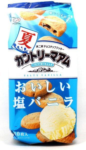 有樂町進口食品 日本進口 不二家冰鎮鹽味香草餅 90g 4902555173603 - 限時優惠好康折扣