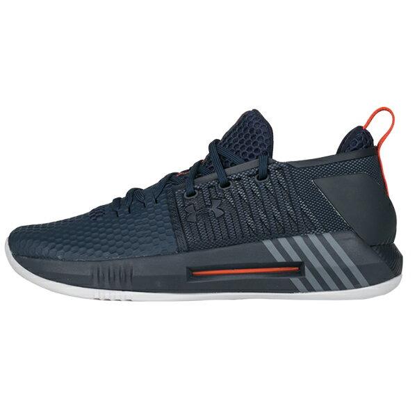 《UA下殺5折》Shoestw【3000086-400】UNDER ARMOUR UA 籃球鞋Drive 4 低筒 深藍紅 男生尺寸