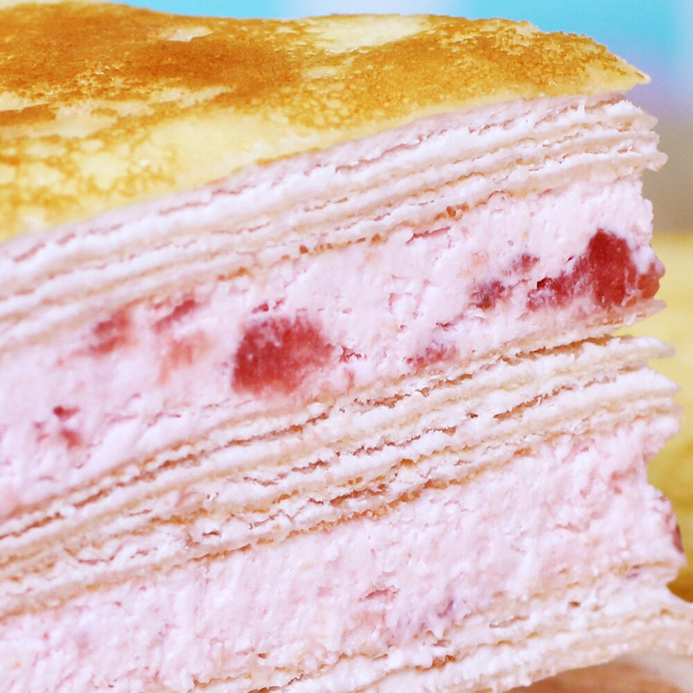【塔吉特】草莓甜心千層(8吋)免運★全館滿1000領券折100 4