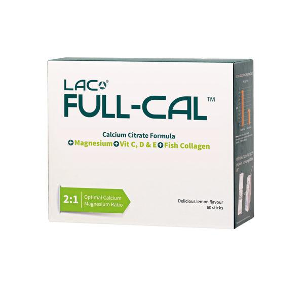 【GNC健安喜】LAC Full-Cal?優鎂鈣 60 包 (檸檬酸鈣+鎂)