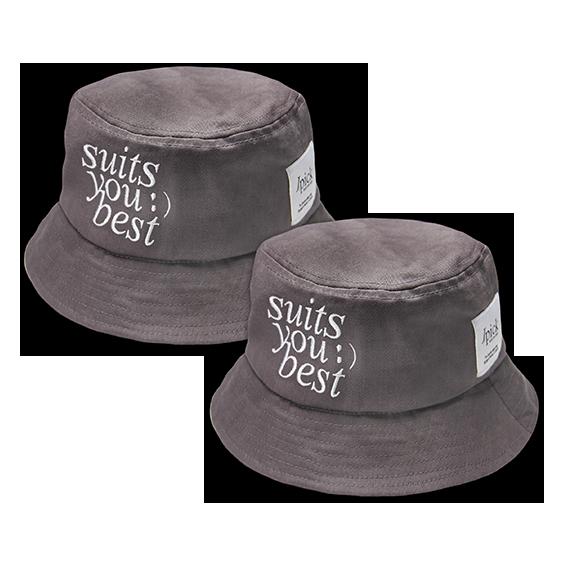 Jpick suits漁夫帽鐵灰色(情侶款專區)