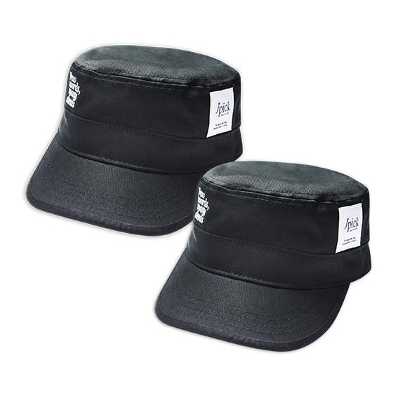 Jpick 軍帽 黑色Few (情侶款專區)