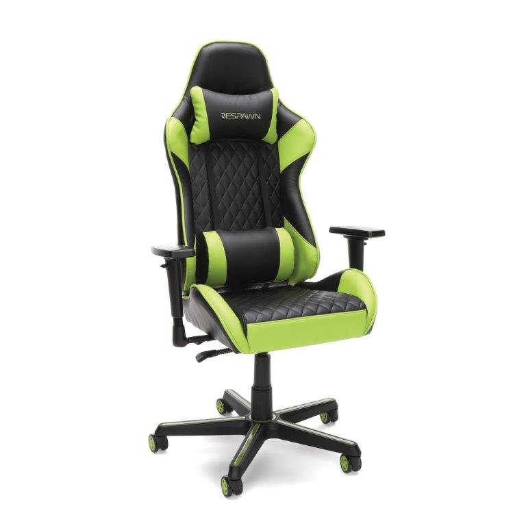 RESPAWN Racing Style Gaming Chair - Reclining Ergonomic Leather Chair, Office or Gaming Chair (RSP-100) 0