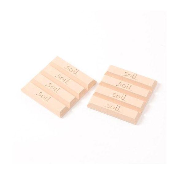 日本 Soil 珪藻土乾燥劑 長條8入 粉紅色 吸濕除臭可重複使用 *夏日微風*
