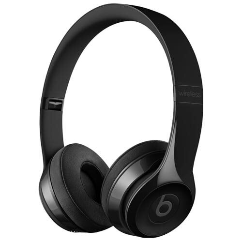 Beats Solo3 Wireless On Ear Headphones - Gloss Black