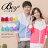 ☆BOY-2☆【NQ98003】情侶韓版配色風衣外套 1