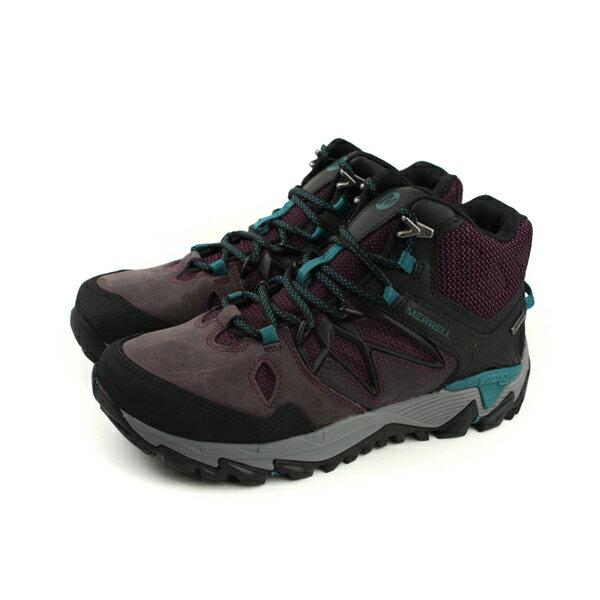HUMAN PEACE:MERRELLALLOUTBLAZE2MIDGTXGore-tex防水運動鞋健行深紫色女鞋ML09688no866
