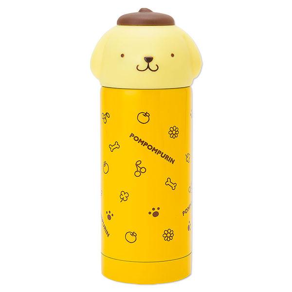 布丁狗不鏽鋼保溫瓶保溫杯真空保溫保冷頭型黃多圖577592