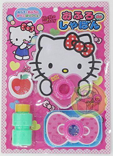 【真愛日本】16012000009  玩具-吹泡泡 KITTY 凱蒂貓 三麗鷗 扮家家酒 兒童玩具 遊戲 公仔