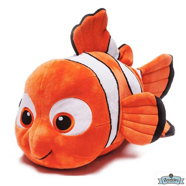 **雙子俏媽咪親子館** 美國ZOOBIES X DISNEY 迪士尼多功能玩偶毯 / 毛毯 / 玩偶 / 抱枕 【正版授權】- 小丑魚尼莫 Nemo