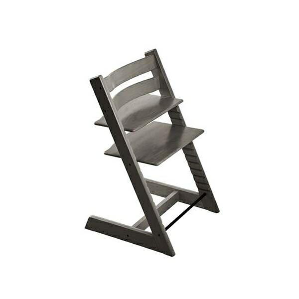 STOKKETrippTrapp®成長椅(櫸木復古灰)餐椅