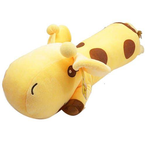 【真愛日本】13020900007綿柔長趴枕-長頸鹿60cm 動物系列 抱枕 靠枕 懶骨頭