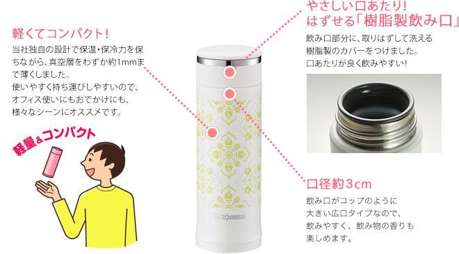 日本象印 人氣款 真空保冷保溫瓶  /  櫻花粉 /  200ml  /  TUFF  /  SM-ED20-VP / 日本必買代購 / 日本樂天直送 (2540。件件免運 1