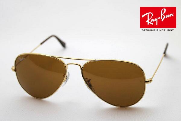 Outlet 100%正品代購 經典 Ray Ban 雷朋 復古 墨鏡 太陽眼鏡 RB3025 金邊茶色鏡片