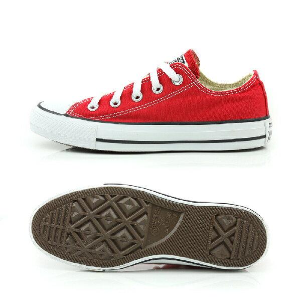 CONVERSE ALL STAR OX 帆布鞋 紅色 男女款 M9696C600 no918 3