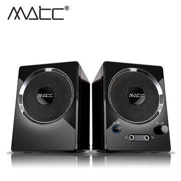 [富廉網] (缺貨) 【MATC】MA-2200 2.0聲道 魔音方塊多媒體音箱 - 限時優惠好康折扣
