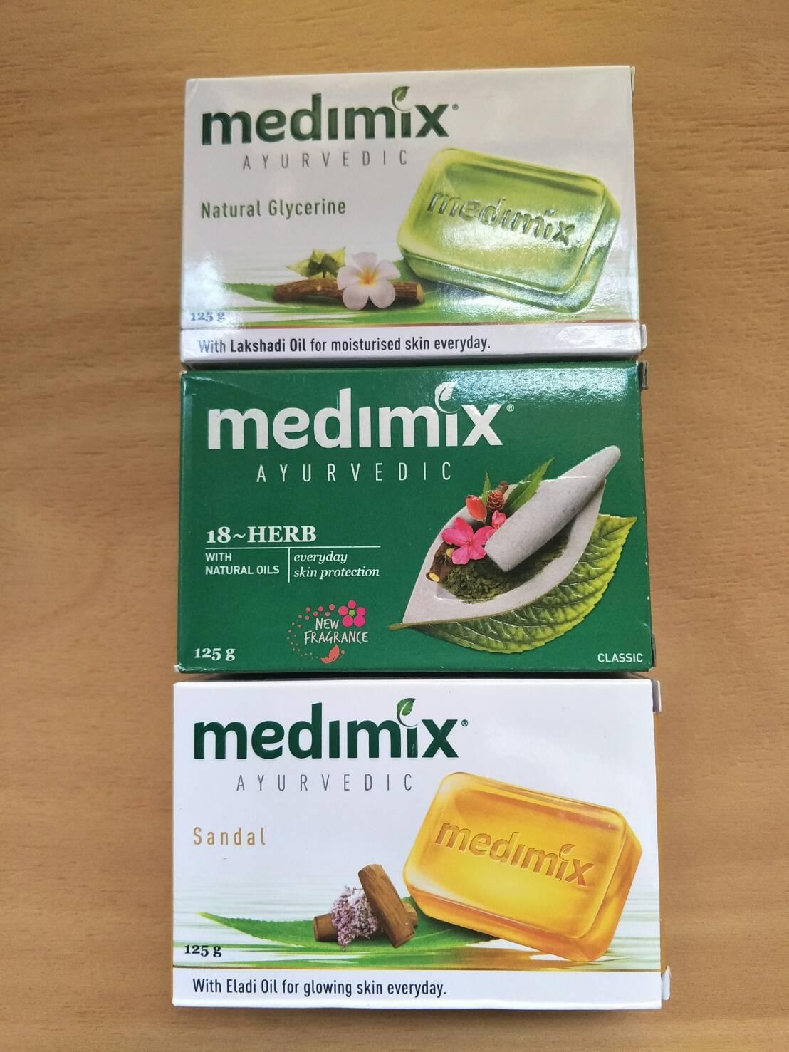 印度 Medimix~印度香皂~美膚皂~香皂~125g