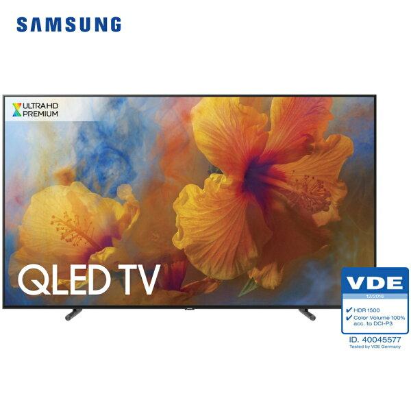 【買就送日立5門冰箱】Samsung三星QA88Q9FAMWXZW88吋4KQLED平面直下式面板液晶電視Q系列含壁掛安裝+VIP教學服務