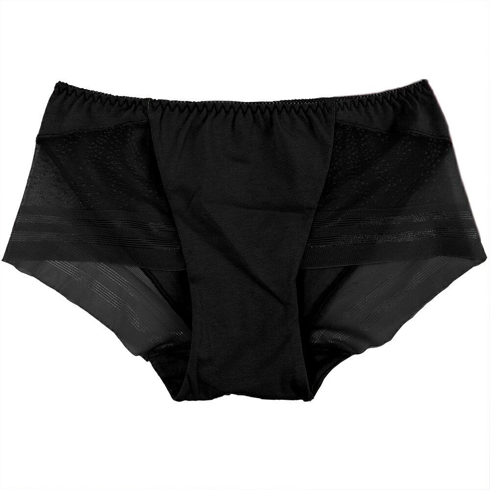 【夢蒂兒】夏之戀系列平口褲(黑) 0