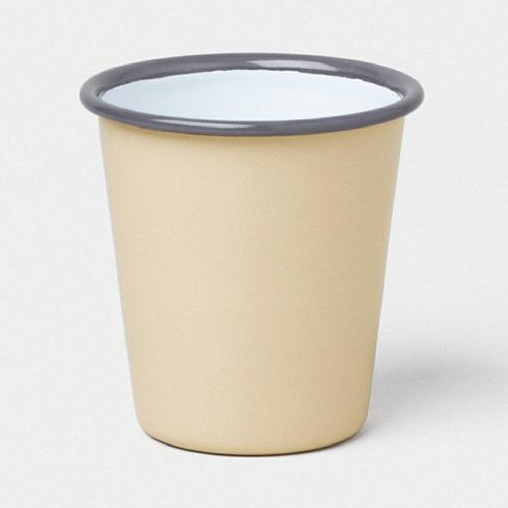 【英國Falcon獵鷹琺瑯】水杯 茶杯 310ml 米白 -618年中慶