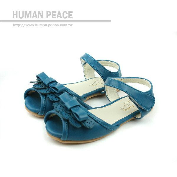 涼鞋 藍 中童 no131