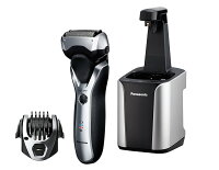 Panasonic ES-RT97-S Arc3 Electric Razor, Men's 3-Blade Cordless with Wet/Dry Convenience, Comb Attachment for Trimming, and included Premium Automatic Clean & Charge Station