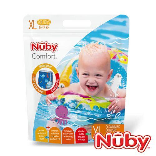 Nuby 游泳尿布 / 游泳戲水褲3片裝(L / XL)(男 / 女)★衛立兒生活館★ 4
