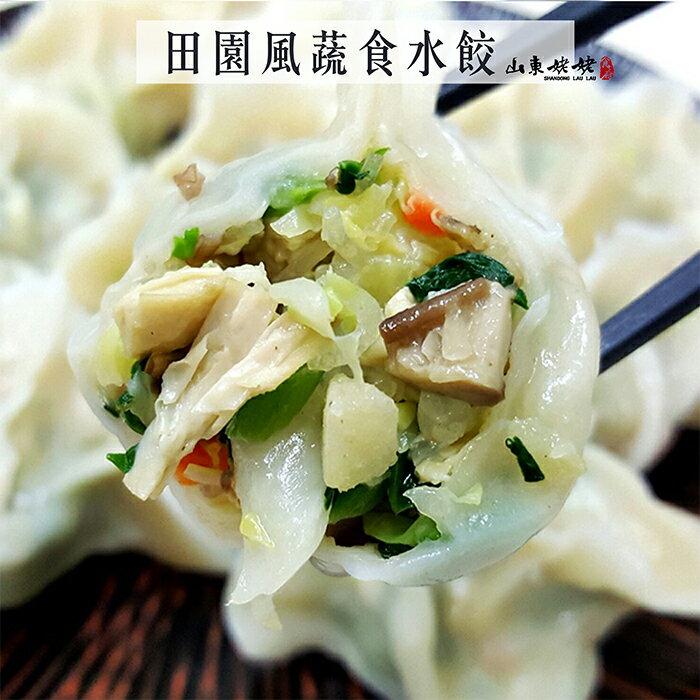 田園風蔬食水餃22入/包