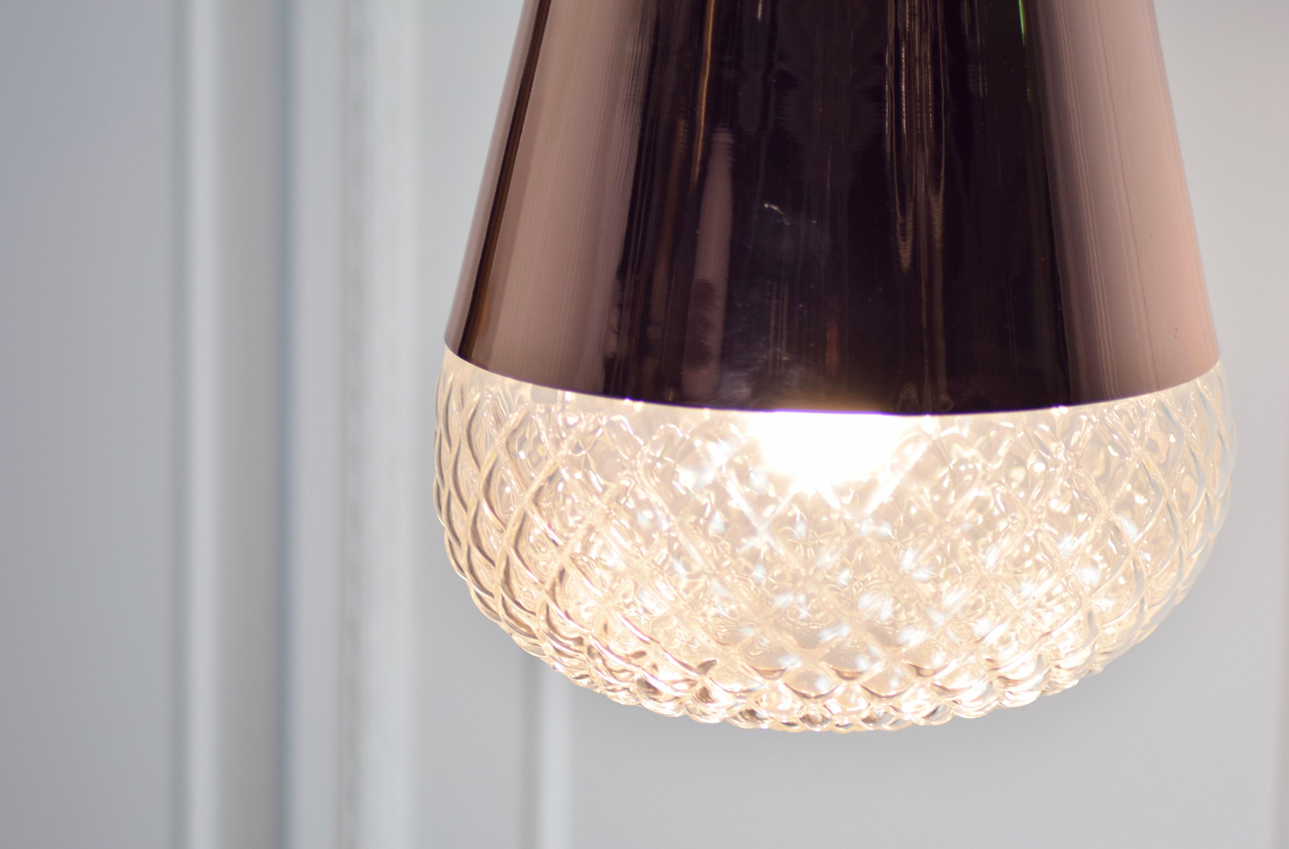 紅銅玻璃吊燈-BNL00118 1