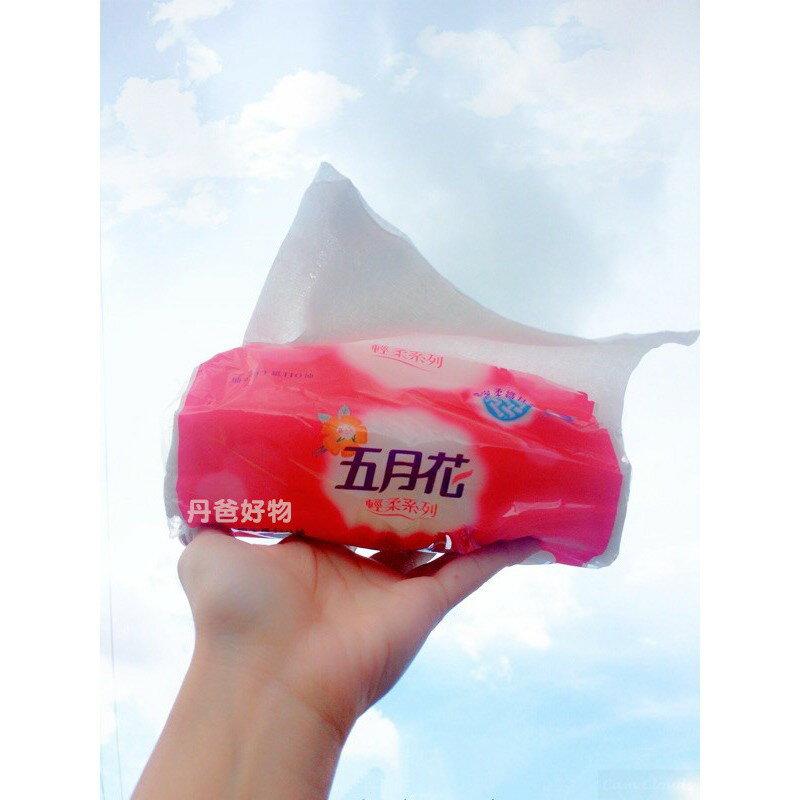 (箱購.共72包)【五月花】輕柔抽取式衛生紙110抽x12包x6串 免運