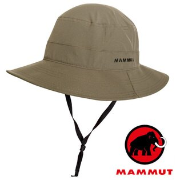 【Mammut長毛象瑞士】Runbold圓盤帽遮陽帽白雲石灰/04611-4531