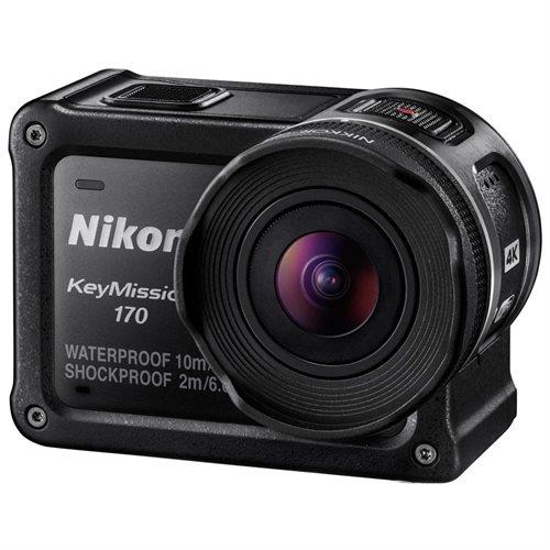"Nikon KeyMission Digital Camcorder - 1.5"" LCD - RGB CMOS - 4K - Black - 16:9 - H.264/MPEG-4 AVC, MOV - Electronic (IS) - HDMI - USB - microSD, microSDXC, microSDHC - Memory Card 3"