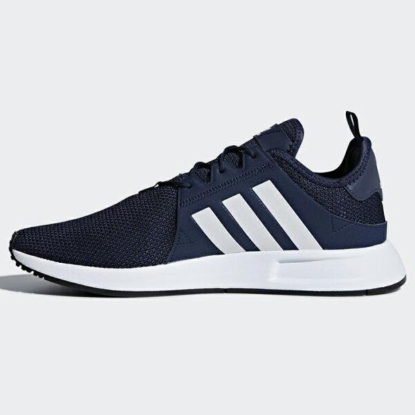 AdidasX_PLR男鞋女鞋慢跑休閒平民版NMD襪套輕量深藍【運動世界】CQ2407