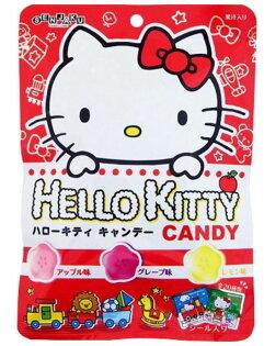 扇雀飴Kitty三種果汁糖-附貼紙40g包【合迷雅好物商城】