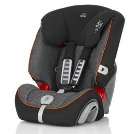 【淘氣寶寶】英國原裝BritaxRmerEvolva(9個月~12歲)旗艦成長型汽車安全座椅(黑灰)
