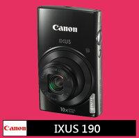Canon數位相機推薦到Canon IXUS 190 數位相機 黑色★(公司貨)就在富士通影音器材有限公司推薦Canon數位相機