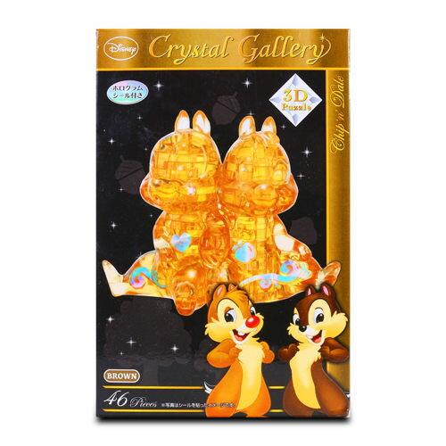 【Disney 品牌授權系列】3D水晶拼圖-奇奇蒂蒂 HA06404