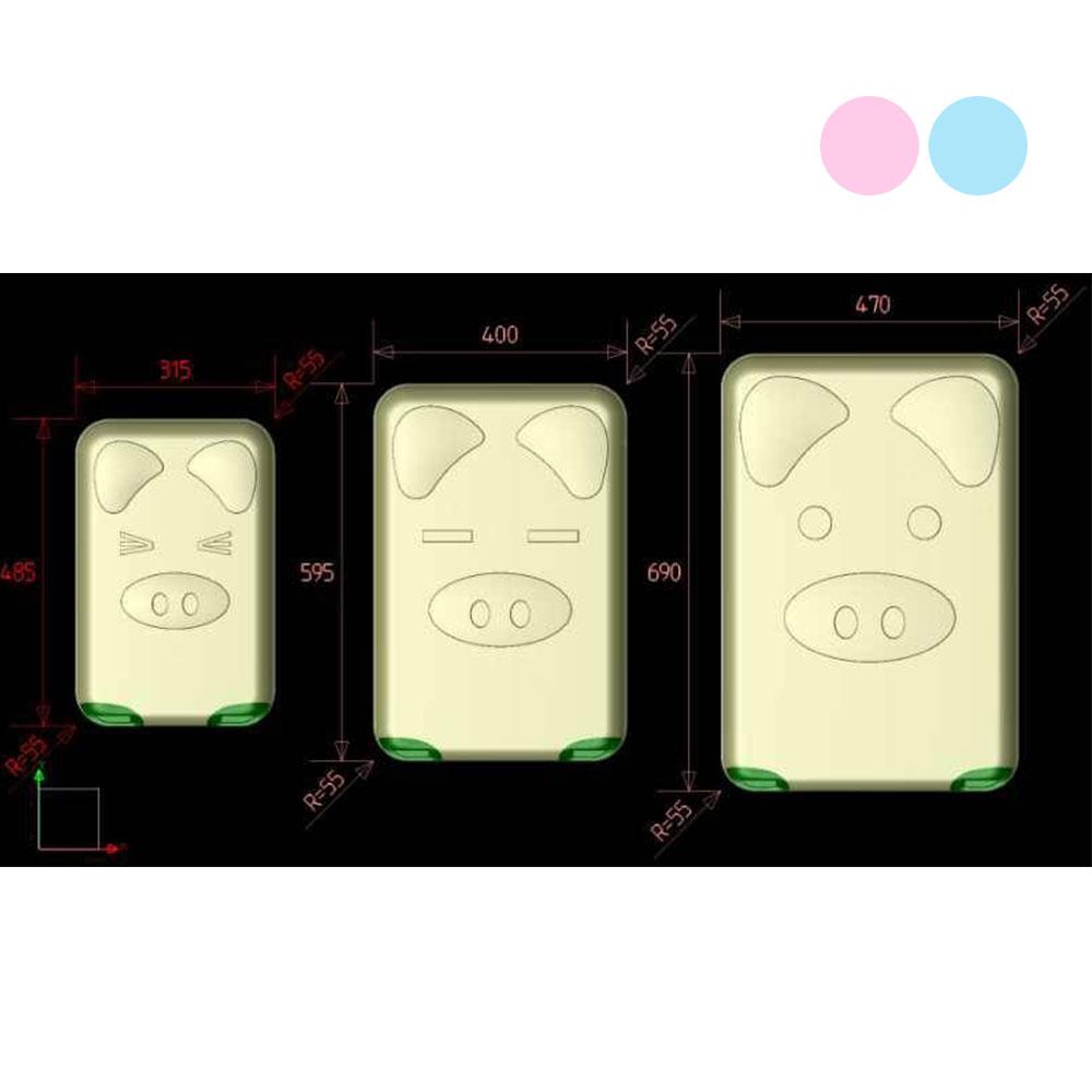 BEAR BOX 三隻小豬之豬事如意系列輕硬殼旅行箱 行李箱 28吋 24吋 20吋 0