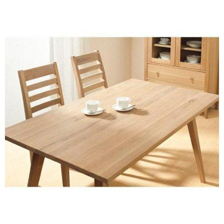 ◎(OUTLET)實木餐桌 ALAND140 白橡木 福利品 NITORI宜得利家居 5